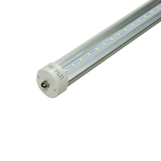 Tubo Led 240cm, Lumistar, LET8-40W-65K-T T8/6500K/40W/85-265v/FA8/Transparente