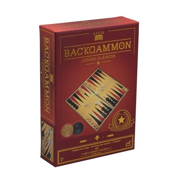 Novelty Backgammon Clásico Caja Foil