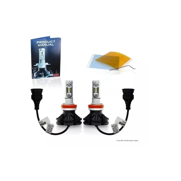 Kit Focos Luces Led Osun X3 Philips H11 9006 H7 9005