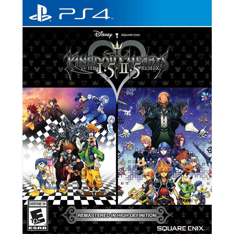 Juego Kingdom Hearts 1 5 2 5 Remix Para Consola Ps4