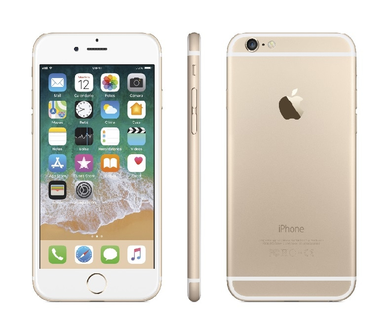 2a1bb95d2cb Celular apple lte iphone 6 32gb color dorado telcel