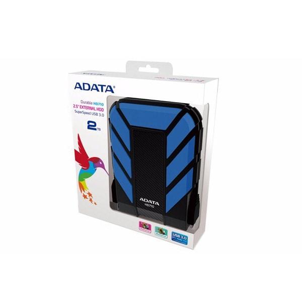 Adata Disco Duro Externo 2tb Portatil Hd710 Pro Rudo Azul