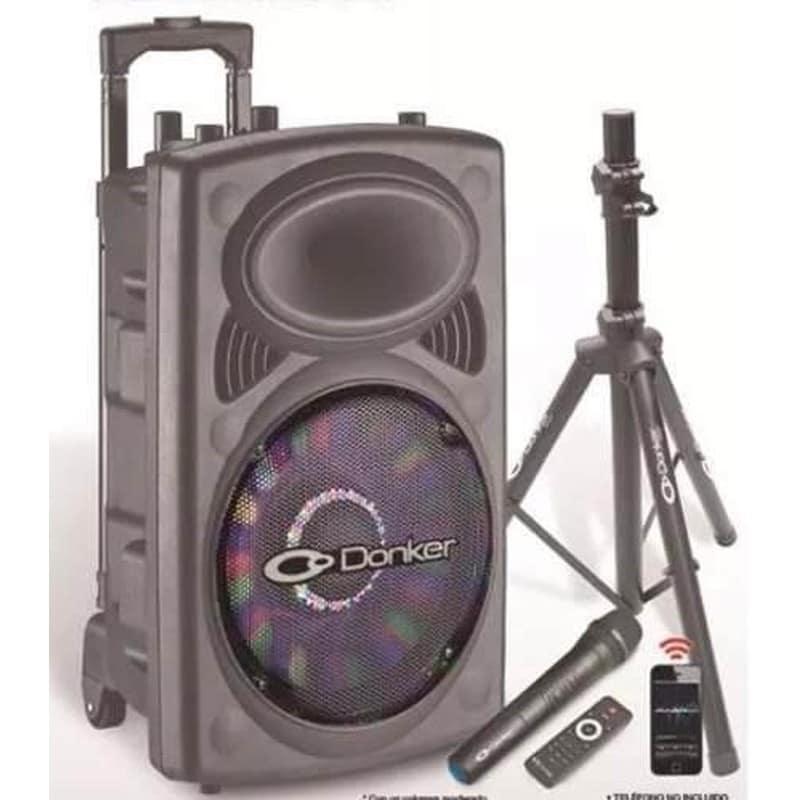 Bafle Bocina 15 Recargable Bluetooth Usb Sd Aux 9300w