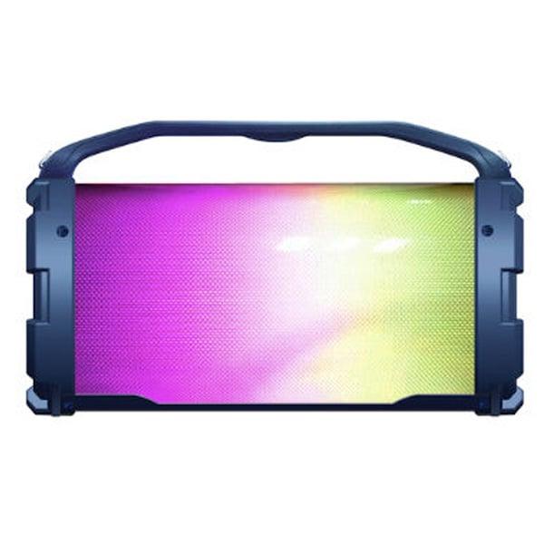 Bocina BLUETOOTH con LUZ LED y reproductor de tarjeta SD, USB y AUX