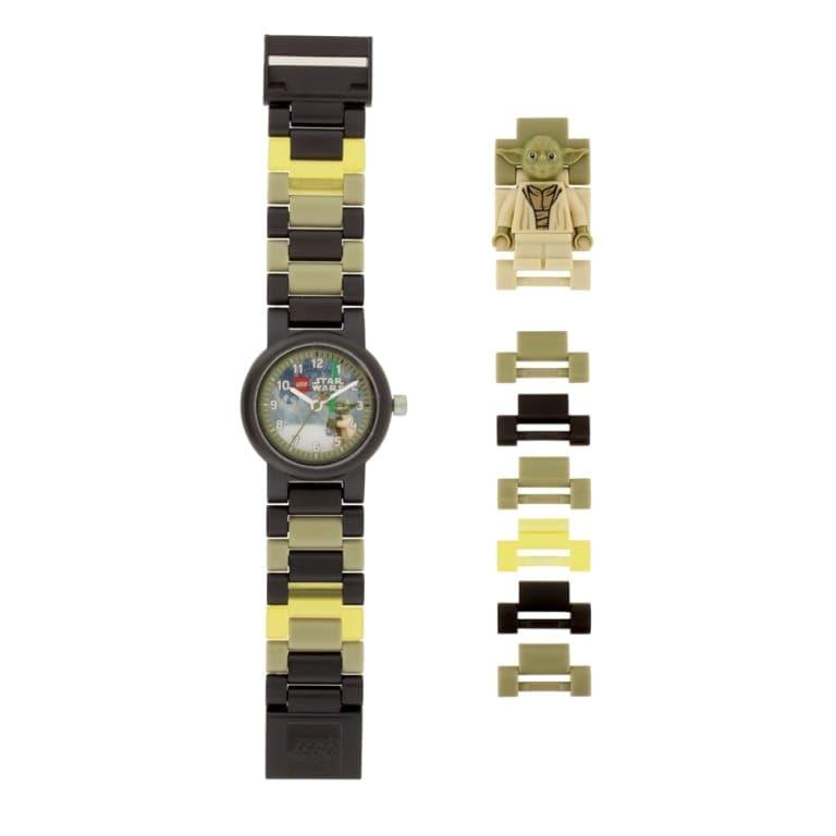 Reloj Lego Star Wars Yoda con minifigura de regalo