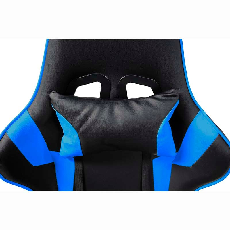 Silla Gamer Consola Pc Ergonomica Reclinable Azul