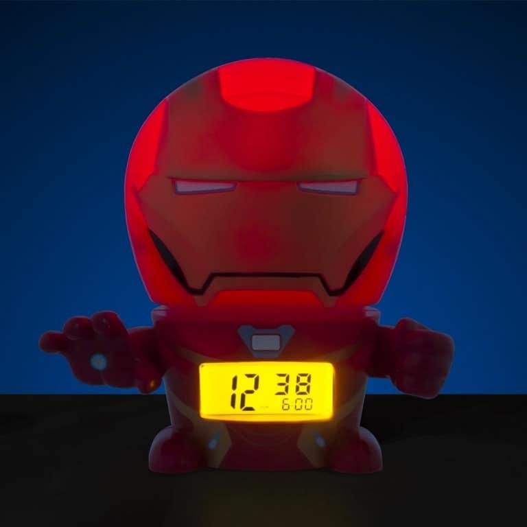 610828800746 Reloj despertador bulb botz iron man
