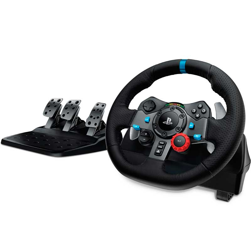Volante Logitech G29 Ps4 Driving Force Ps3 PC GAMER 941-000111