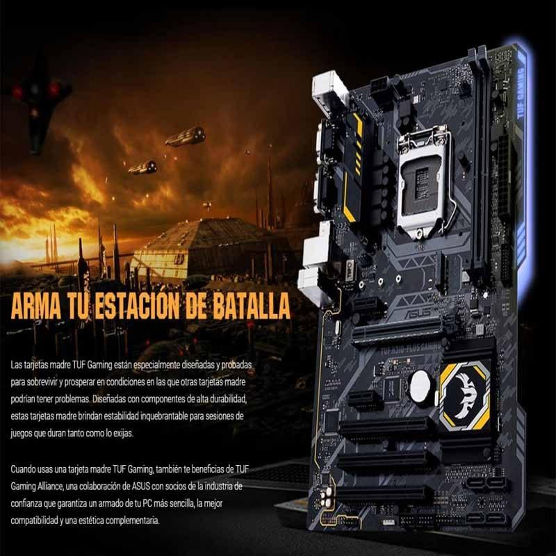 Computadora Pc Gamer Gtx 1050 2gb Intel I3 1tb 8gb 80+ Tuf