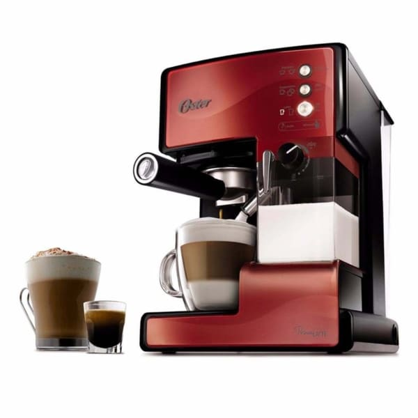 Cafetera Prima Latte Oster Roja BVSTEM6601R-013