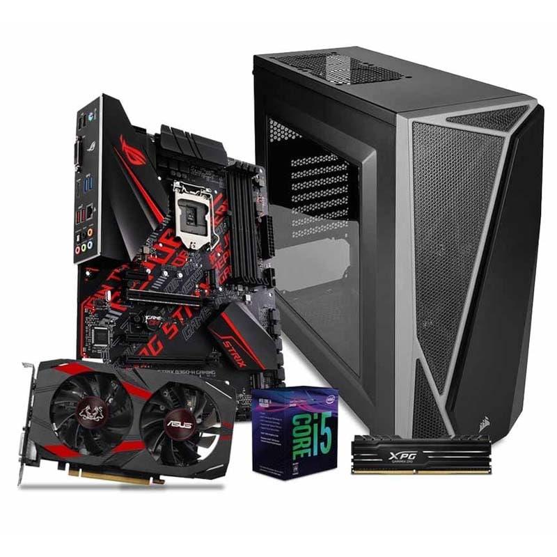 Computadora Pc Gamer Gtx 1050ti 4gb Core I5 1tb 8gb 80+ Rog