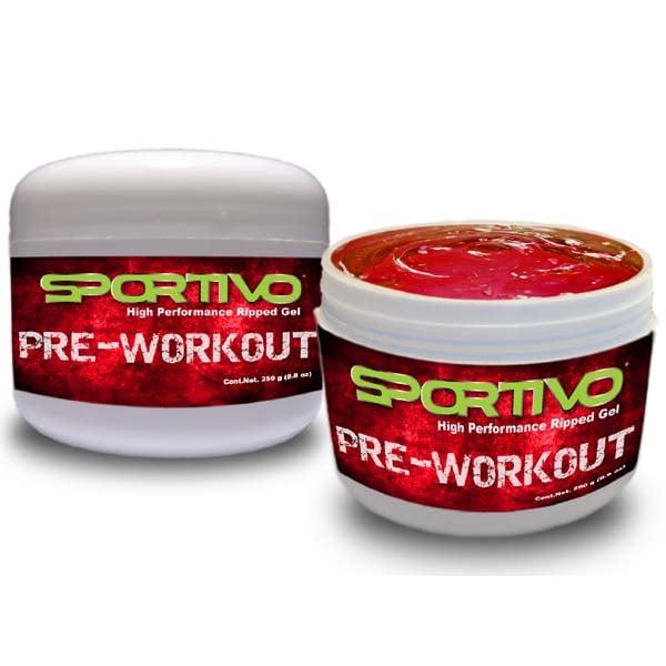 Gel Pre Workout Sportivo