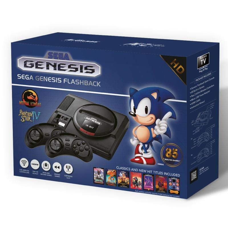 Consola Sega Genesis Flashback (Gold)