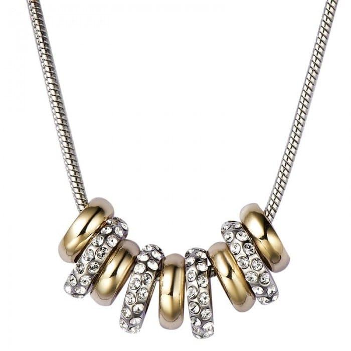 Collar Nine beads cristal austriaco Romatco