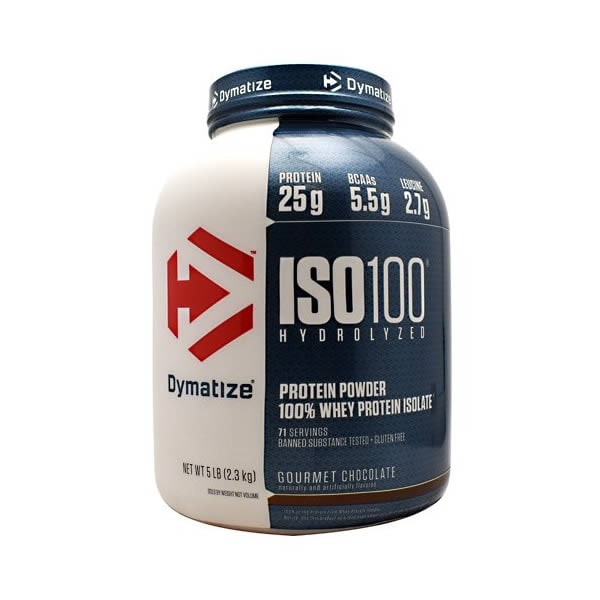 Proteina Dymatize Iso 100 71 Servicios - Chocolate