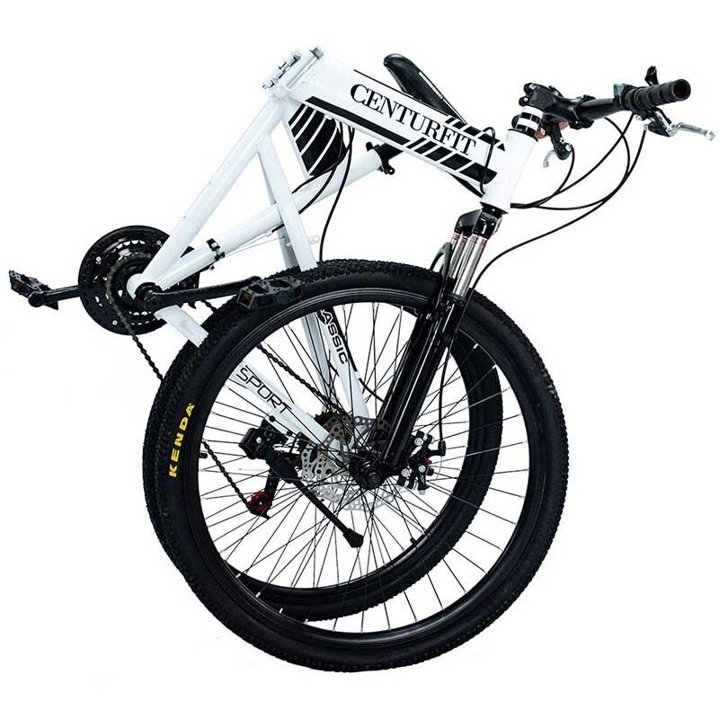 Bicicleta Plegable Rodada 26-21 Velocidades Centurfit Blanco