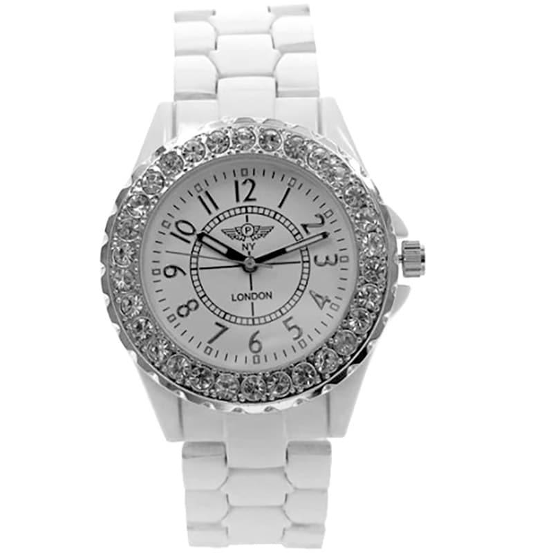Reloj Sportylicious on White, Cristal Sun