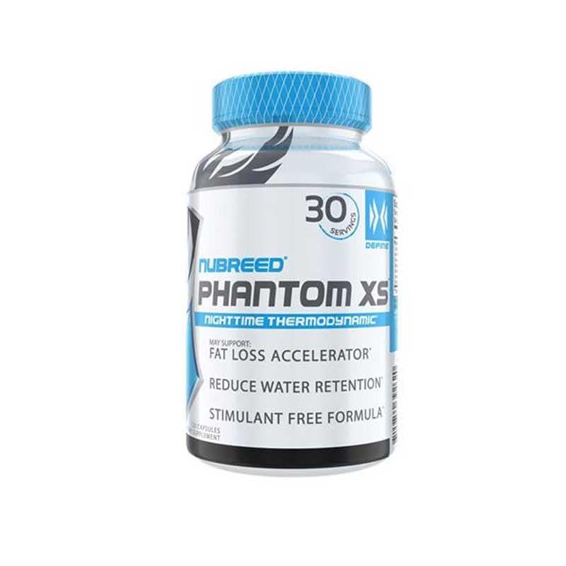 Suplemento Nubreed Phantom Xs 120 Caps