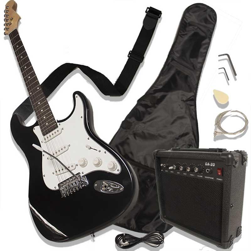 Guitarra Eléctrica Tipo Stratocaster Amplificador Incluido Accesorios
