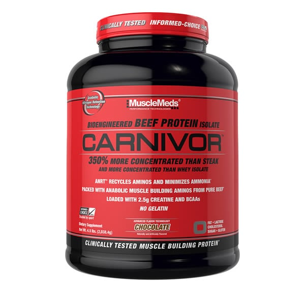 Proteina de Carne Carnivor 56 Servicios - Vainilla