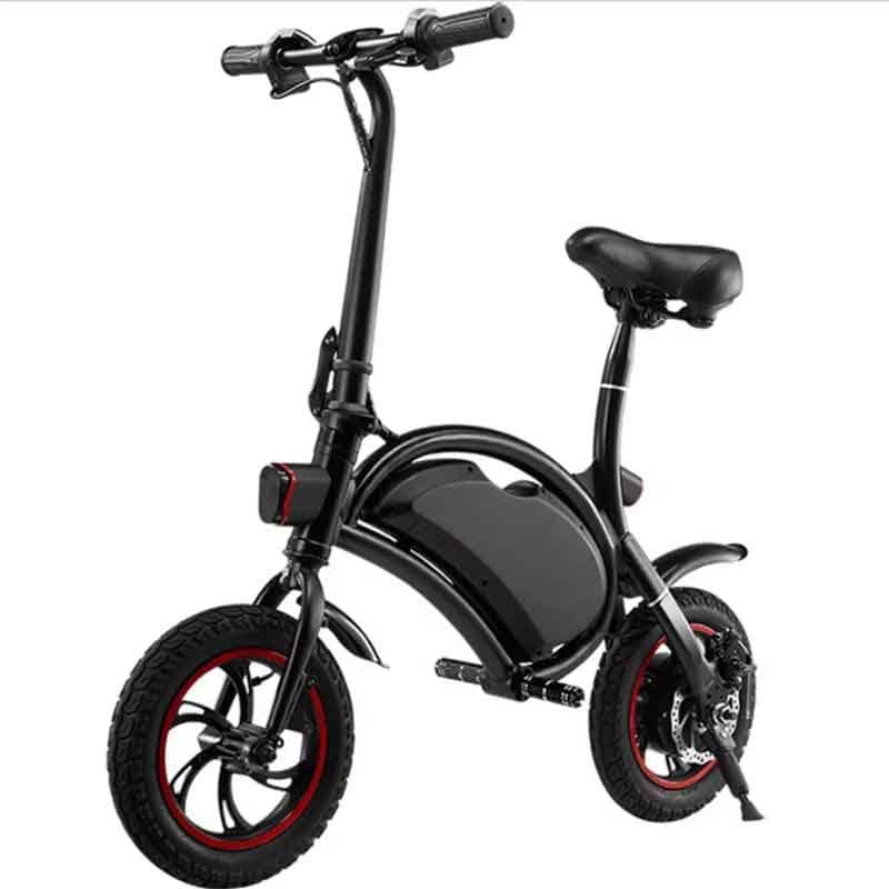 Bicicleta Electrica Blackpcs M10-bl Fibra De Carbon 300w