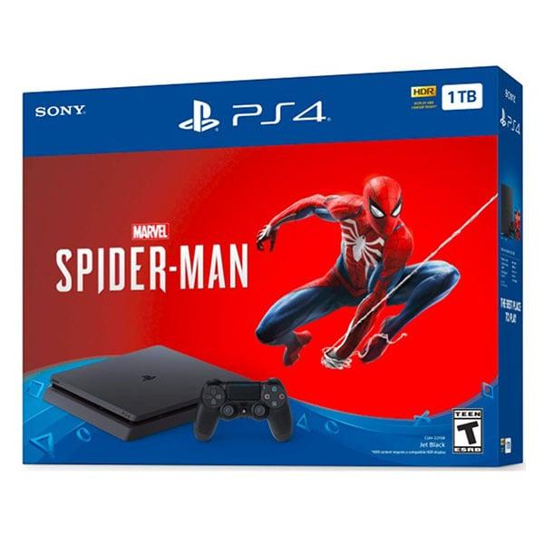 PlayStation 4 Slim 1TB Console-Marvel's SpiderMan Bundle