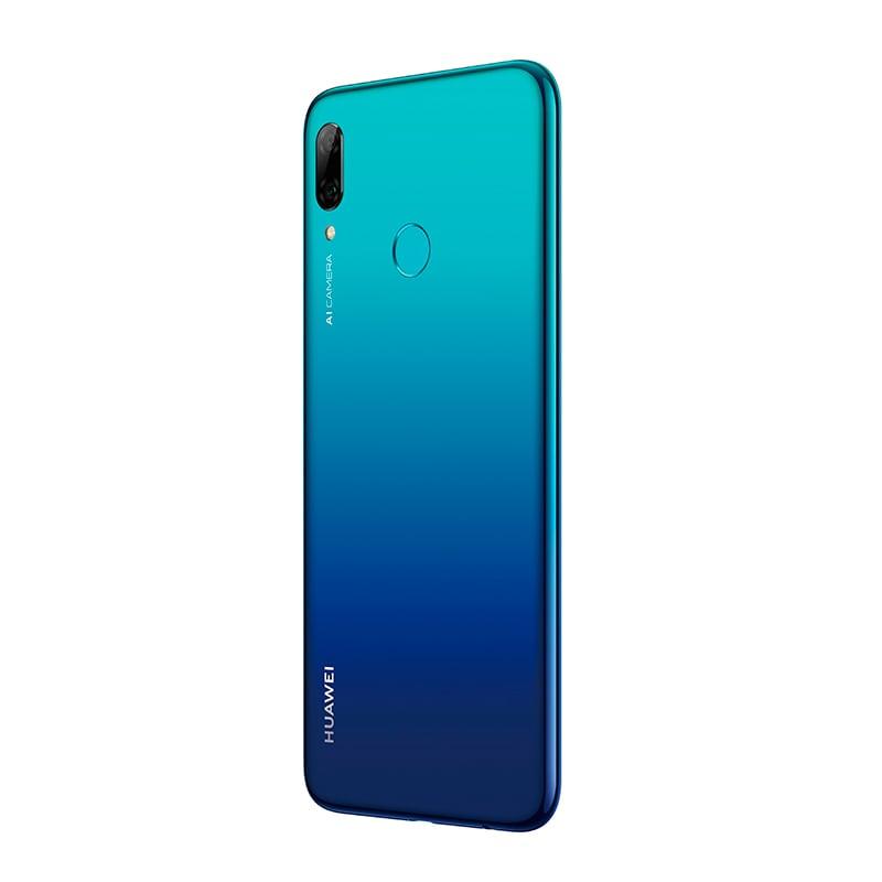 Celular HUAWEI POT-LX3 P smart 2019 Color AZUL Telcel y de regalo una HUAWEI Band 3e