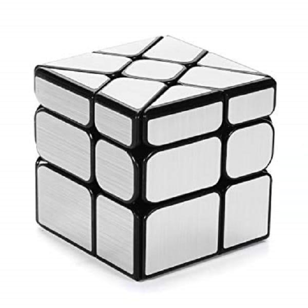 Cubo profesional  mirror windmill plateado