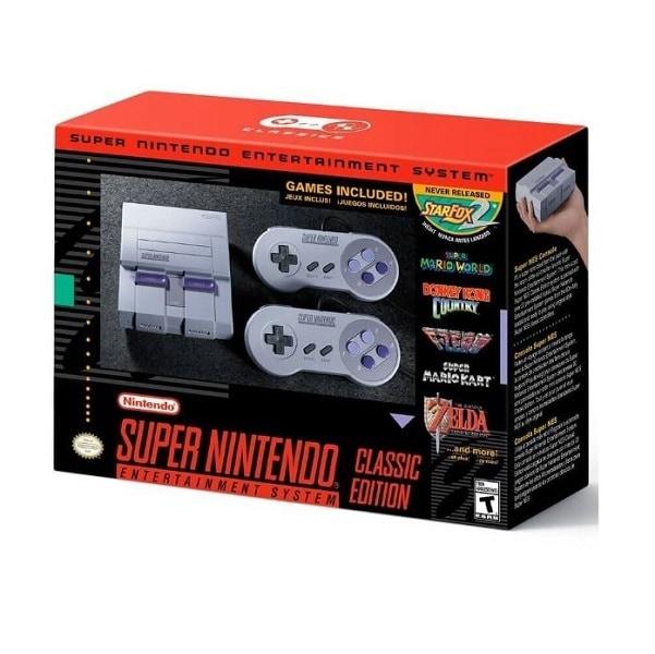 Consola Super Nintendo Nes Classic Edition 21 Juegos  Hdmi