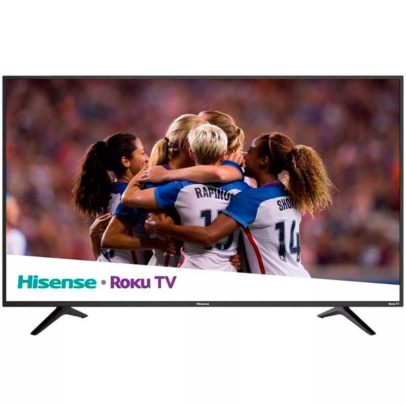 Pantalla 50 Hisense Smart Tv Roku Hdr Television 4k Full Hd Televisor 50r6e