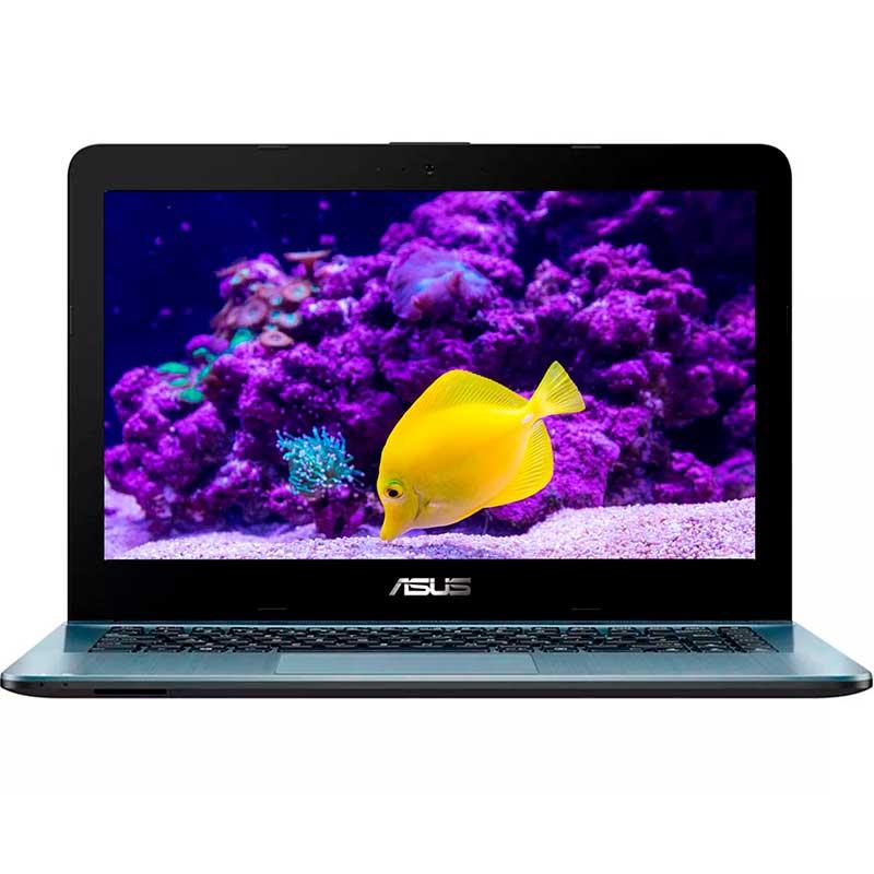 Laptop Asus Vivobook Intel Dual Core 4gb 500gb 14 WiFi Windows 10 Plata A441NA-GA313T