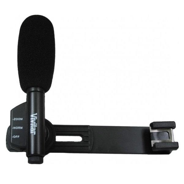 Vivitar microfono de videocamara