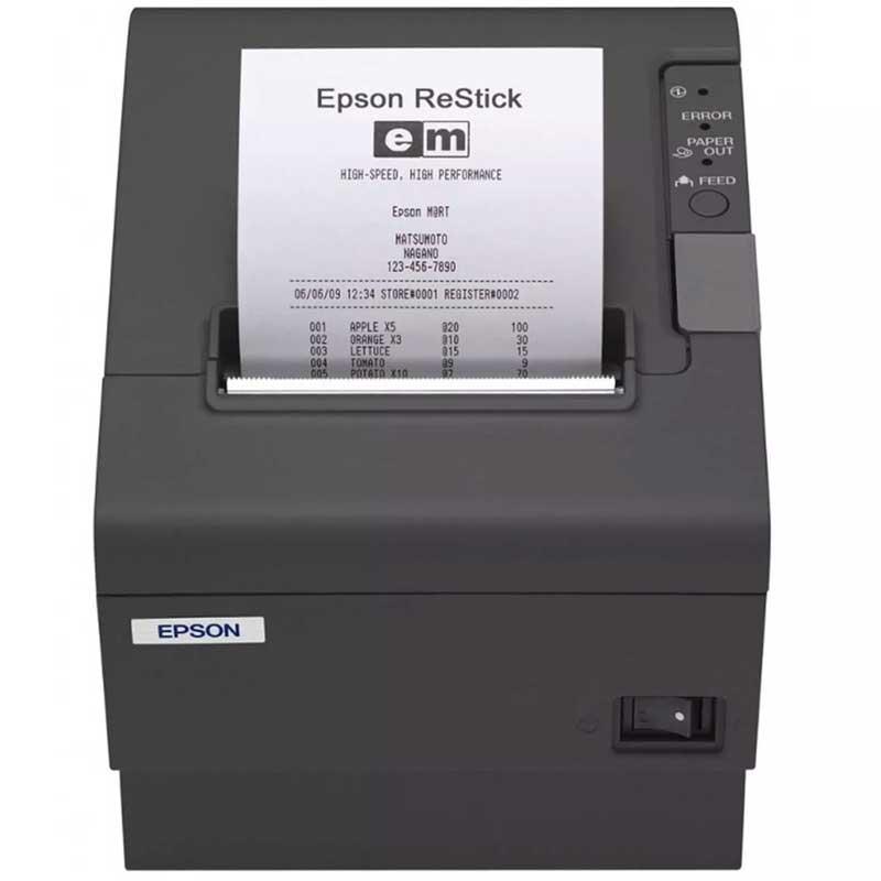 Mini Printer Epson Tm-t88v-084 Termica Serial Usb Negro