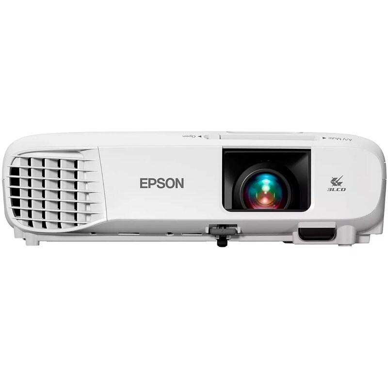 Proyector Epson S39 Powerlite SVGA 3LCD 3300 Lumenes Presentador