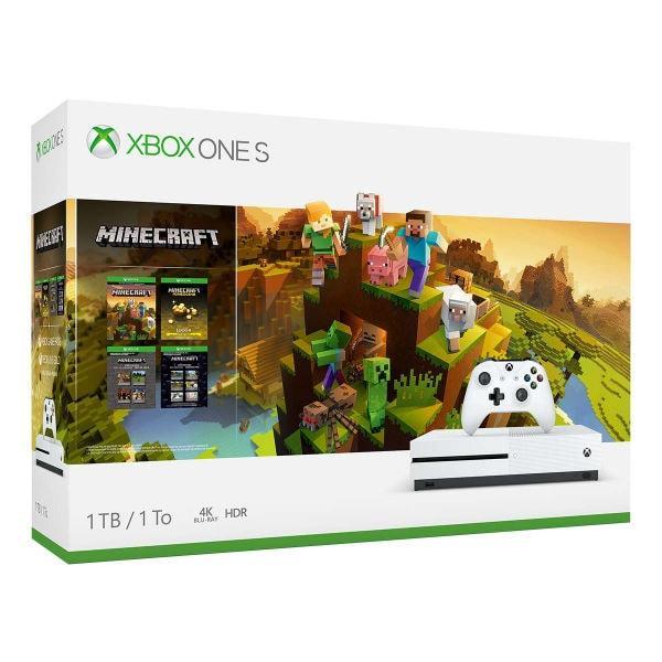 Xbox One S 1TB Console - Minecraft Creators Bundle + dos regalos