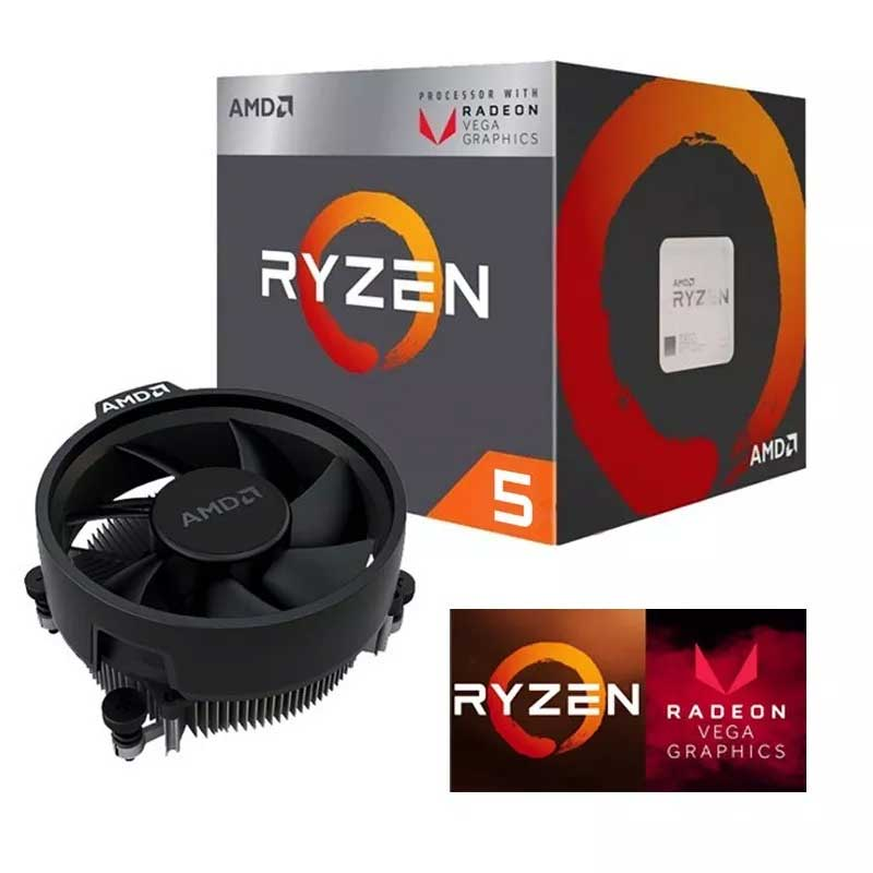 Pc Gamer Xtreme Amd Ryzen 5 2400g 8gb 1tb Vega 11 Kit Gamer