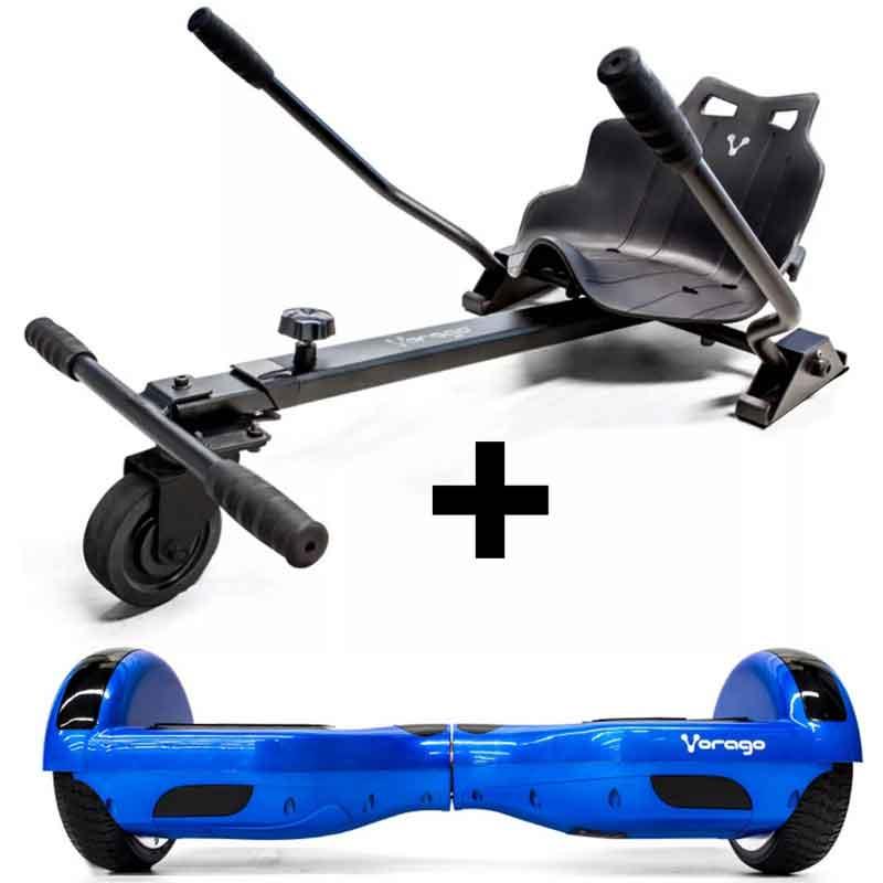 Patineta Hoverboard Scooter Electrica Vorago Gokart Hb-300 Azul