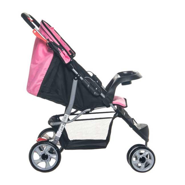 Carriola Jogger Corinto Pink, Infanti