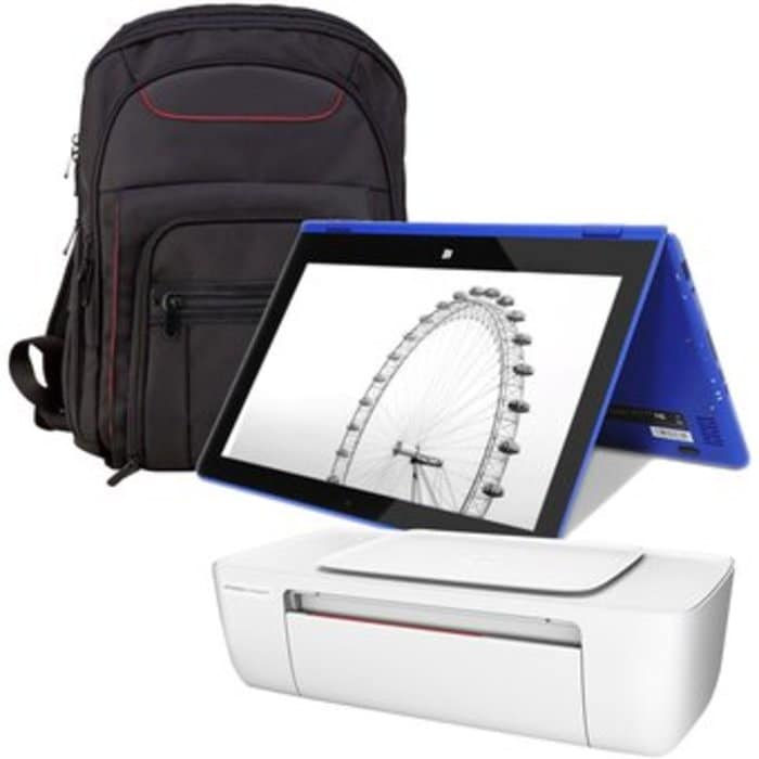 "Laptop Vulcan Flex Note 3 Atom 11.6"" 2GB ram 32GB DD Win10 Azul + KIT"