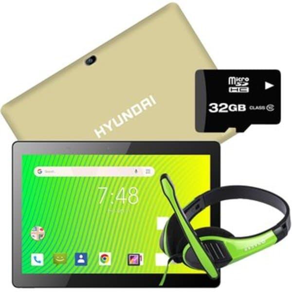"Tablet Hyundai Koral 10W2 10.1"" 16Gb 1GB ram + KIT - Color Dorado"