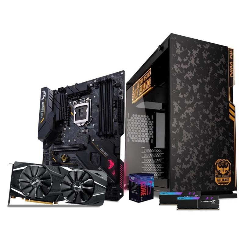 CPU Gamer Rtx 2060 I7 Ssd 120gb 1tb 16gb 80+ Tuf
