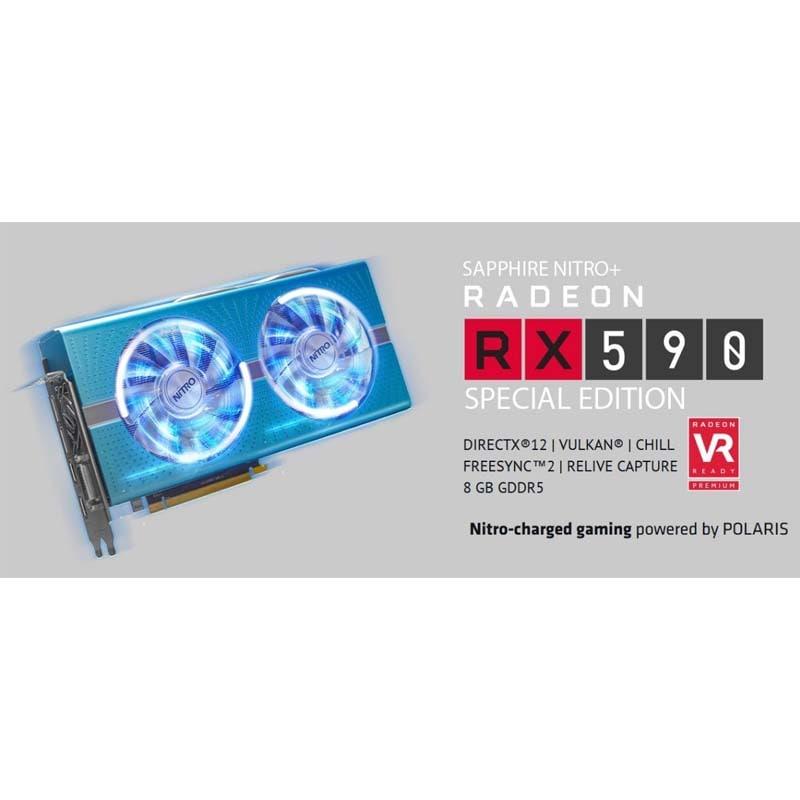 CPU Rx590 8gb Video Amd Ryzen 5 1tb 8gb 80+