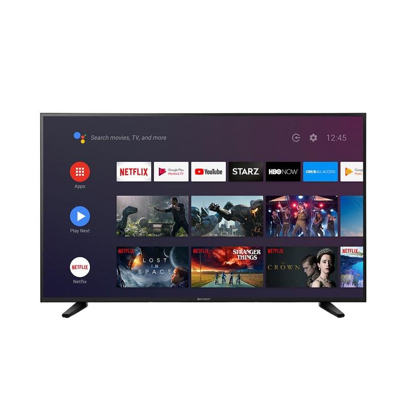 Pantalla Sharp 55 Television Smart Tv 4k Uhd Lc-55q7530 /e
