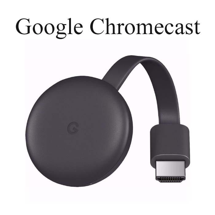 Google Chromecast modelo Ga00439-US  (2018) 3ª GEN  + Google Home Mini GA00216-US