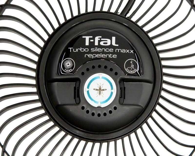Ventilador de Pedestal Tfal Turbo Silence Maxx Repelente 3 en 1 VE7760M0