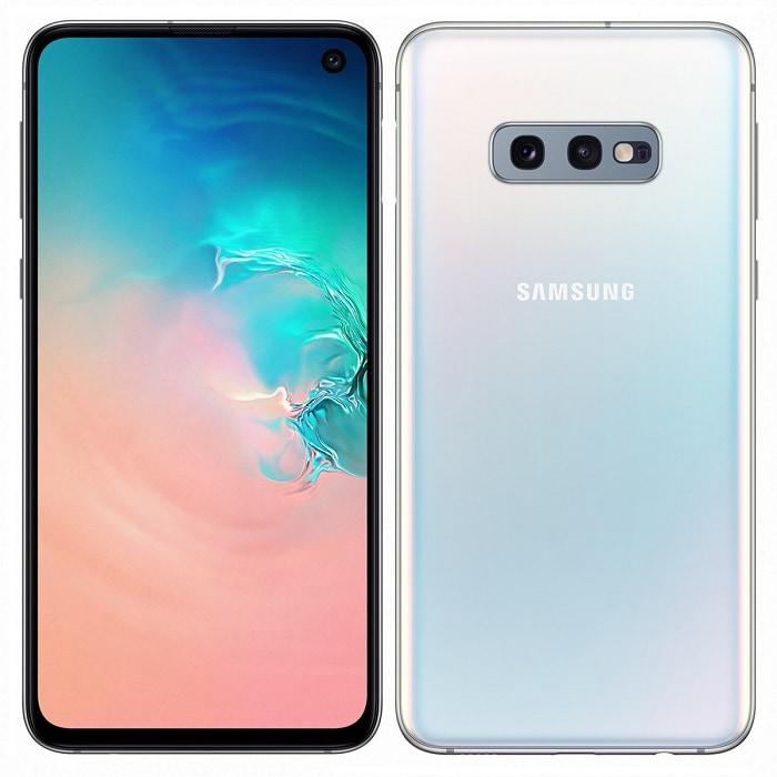 Celular Samsung Galaxy S10E SM-G970F 128GB 6GB en RAM Blanco Desbloqueado