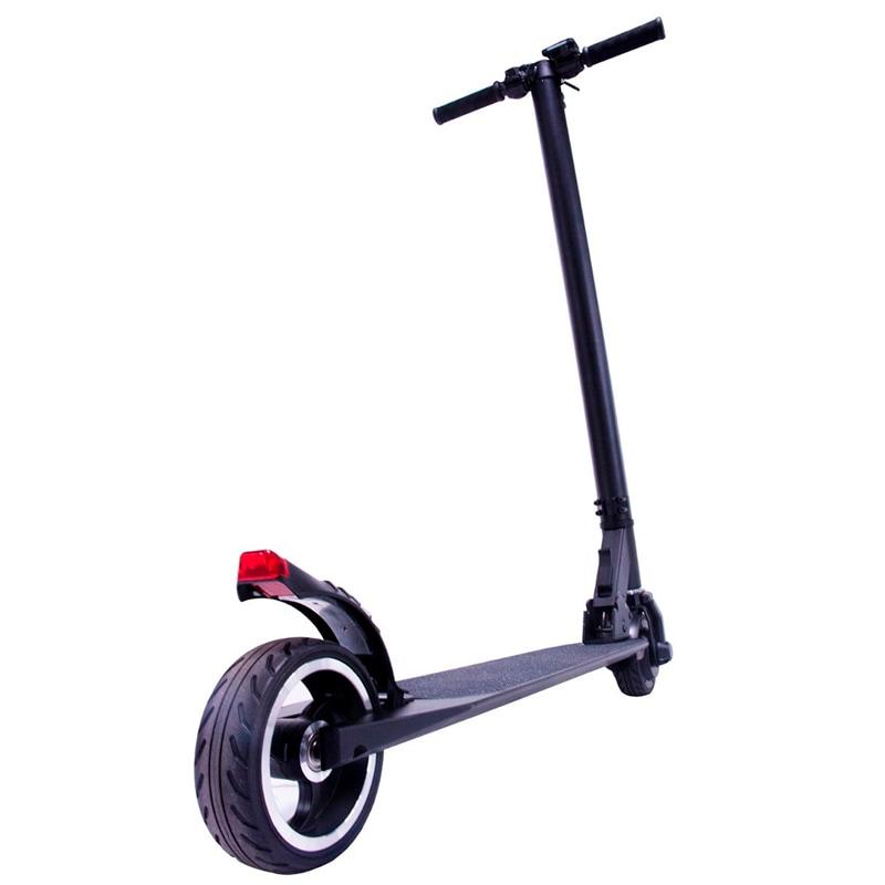 Scooter Electrico Patin Plegable 24 V 23 Km/h 250w Negro