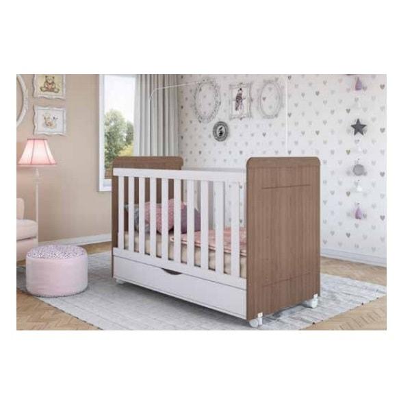Cuna 540 Blanco Miel - Këssa Muebles