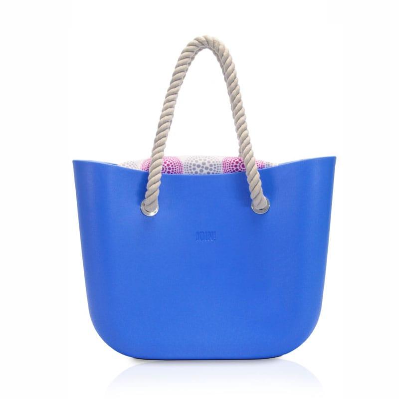 Bolsa para la playa, JOIN HANDBAGS ,Color azul cielo REGALO MASCADA GRATIS