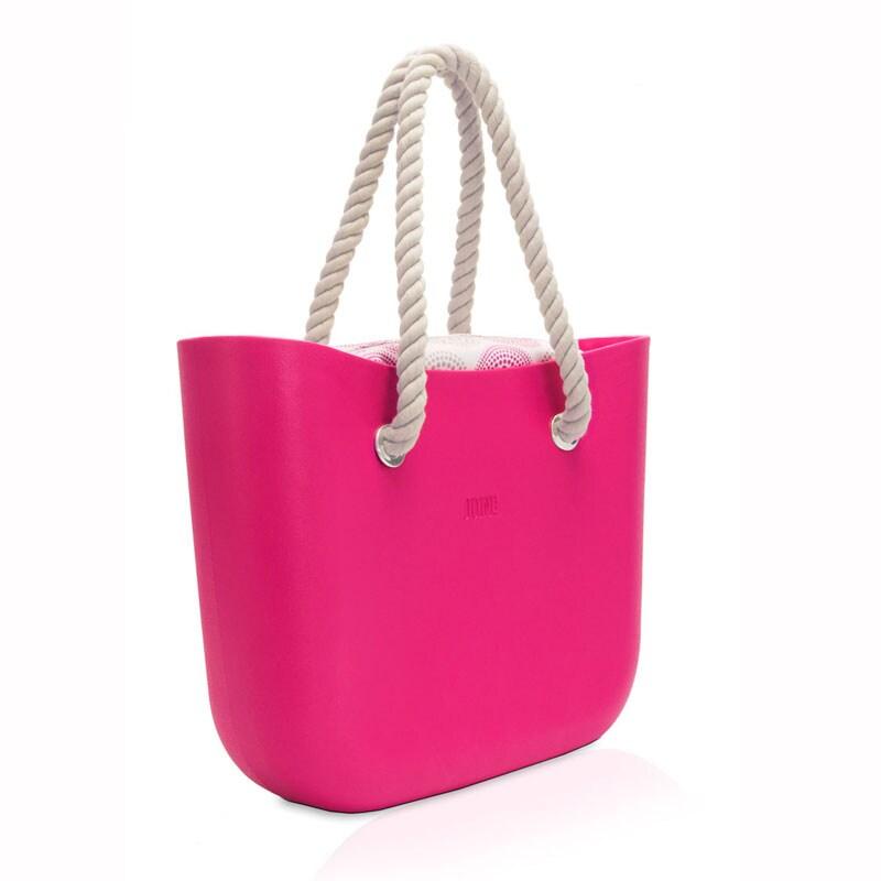 Bolso para la playa JOIN! HANDBAGS color FUCSIA